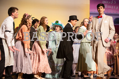 The Music Man--Cast Photo and Stage Action