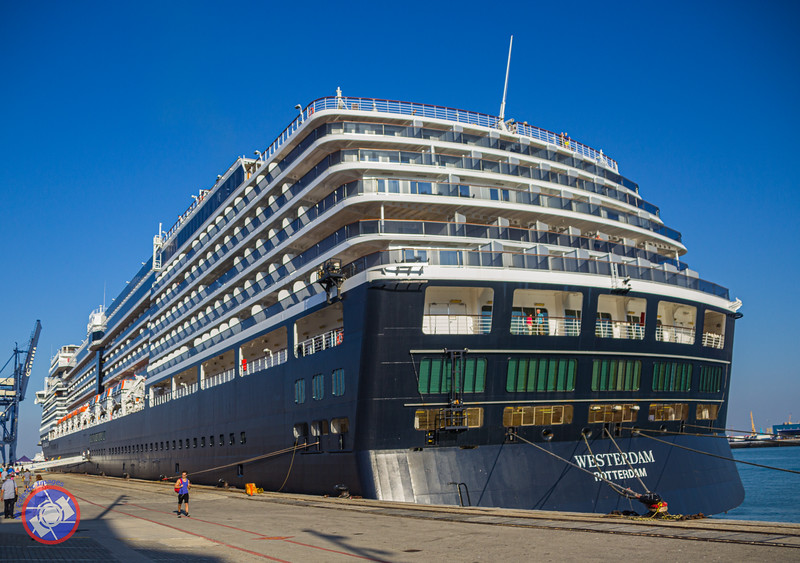 The Westerdam Docked in Cadiz Prior to Departing for Fort Lauderdale (©simon@myeclecticimages.com)