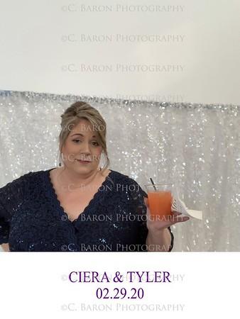 Ciera + Tyler = Social Media Photobooth