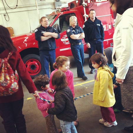 Fire House Field Trip
