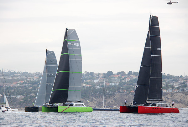 Saturday Transpac Start Pictures