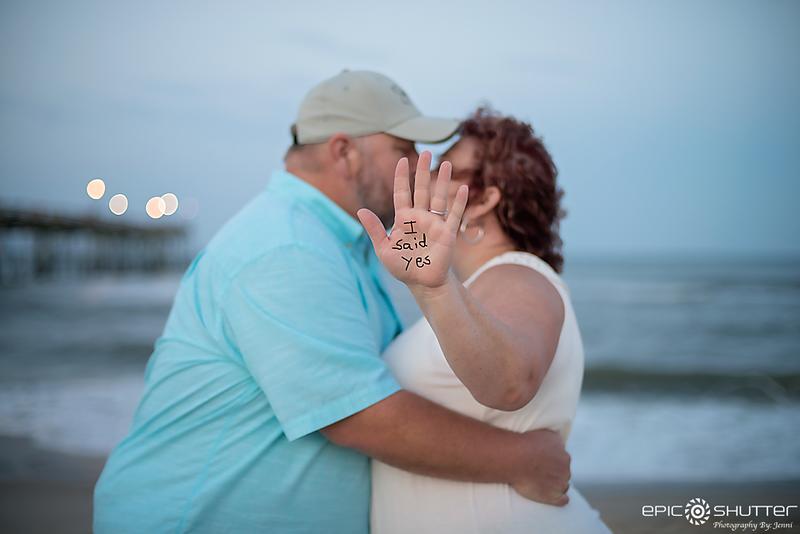 Avon Fishing Pier, Proposal, Avon, Hatteras Island, North Carolina, Epic Shutter Photography