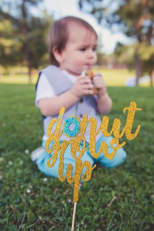 Donut Growup- Niko's 1 year