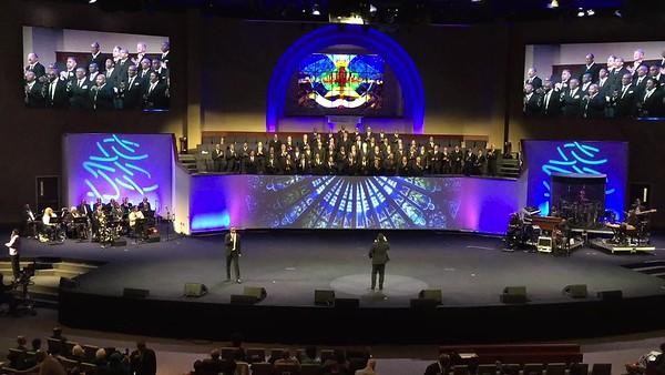 Men's Choir practice...BATTLEFIELD 03142019