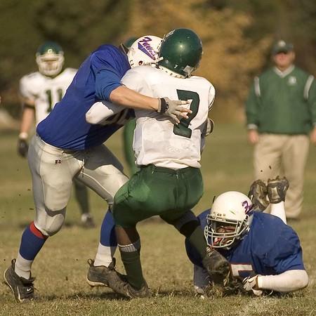 Prep Football plays Benedictine