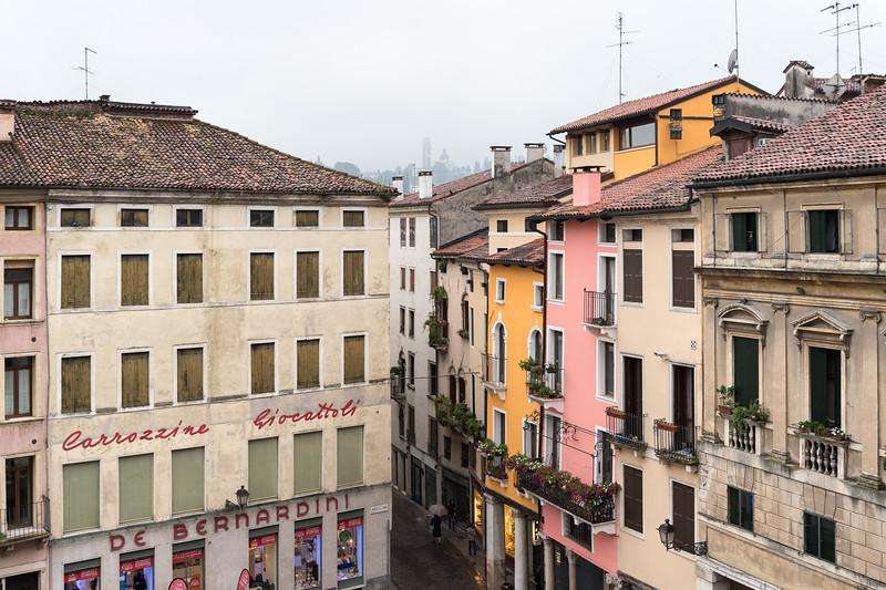 Piazza delle Erbe - Vicenza, Italy - May 1, 2015