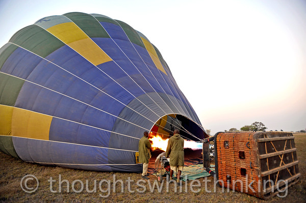 Zambia 2014 Balloon Flight