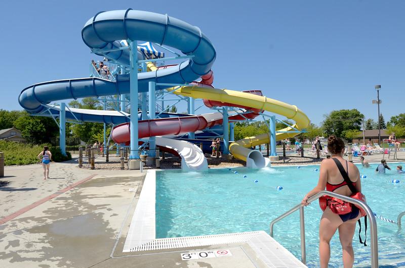 lifeguard at aberdeen aquatic center