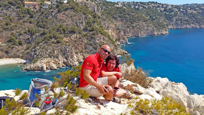 Summer time with Erle and Paqui on the Granadella Circuit