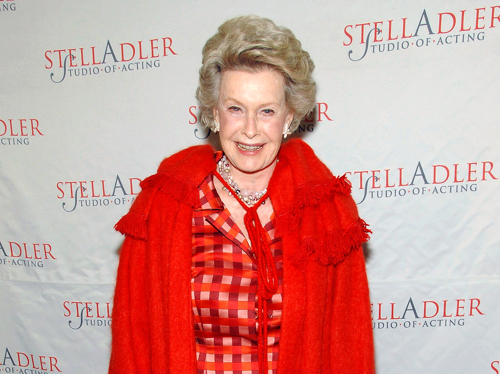 . FILe - In this March 17, 2008 file photo, actress Dina Merrill attends the 4th Annual Stella by Starlight benefit in New York. Merrill, the rebellious heiress who defied her super-rich parents to become an actress, died Monday, May 22, 2017, at age 93.  (AP Photo/Evan Agostini, File)
