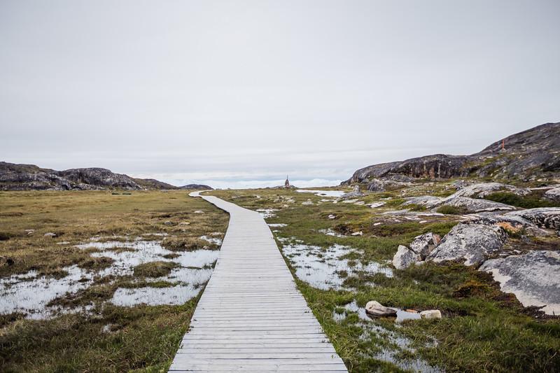 Sermermiut UNSECO site in Greenland