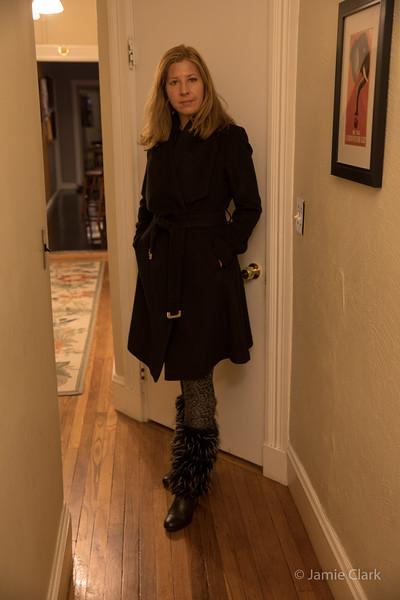 Diane von Furstenberg Coat Collection - Winter Break in Boston 2016-17