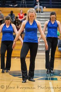 2012 PHS Dance at BB vs Indianapolis Metro