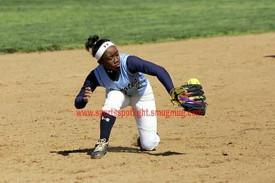 R Montgomery @ Clarksburg Var Softball 2012