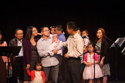 Baby Dedication April 2014