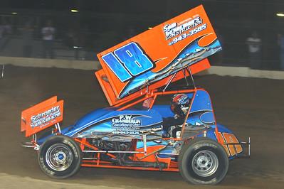Fremont Attica Sprint Title, 410 and 305 Sprints, Fremont Speedway, Fremont, OH, April 25, 2009