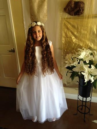 Hanna's First Communion: 5/2/15