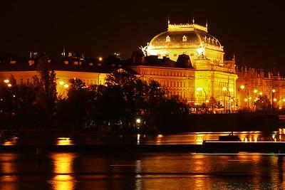 Prague, Vienna.
