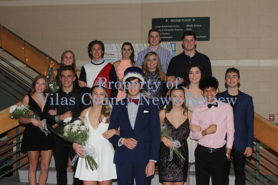 Northland Pines Homecoming Court