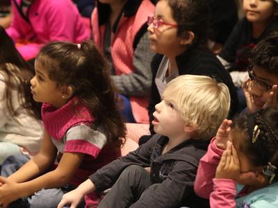 Porter Elementary Deaf Education Students Visit Admin Building