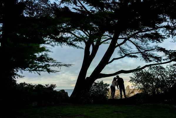 Aryn + Jeff @ Lover's Point, Pacific Grove