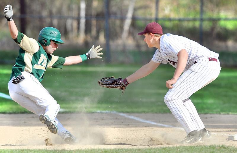Oxford Hillsat Edward Little baseball