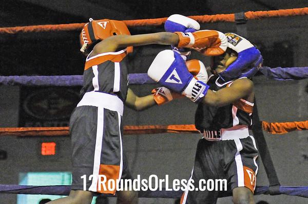 Bout #4  Julius Strong (Cleveland) vs Jairez  Jackson (Cleveland)