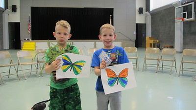 Paradise Canyon Students Help Save Butterflies