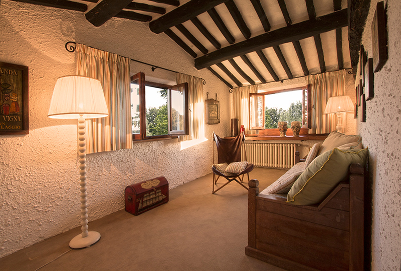 2nd bedroom adjacent to Bedroom Granaio (the Barn)
