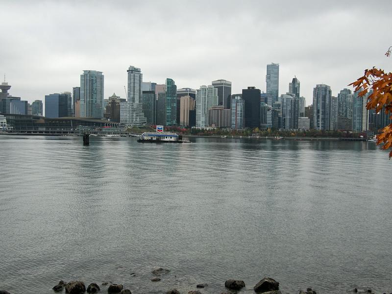 Oct. 20/13 - Biking around the Vancouver Seawall