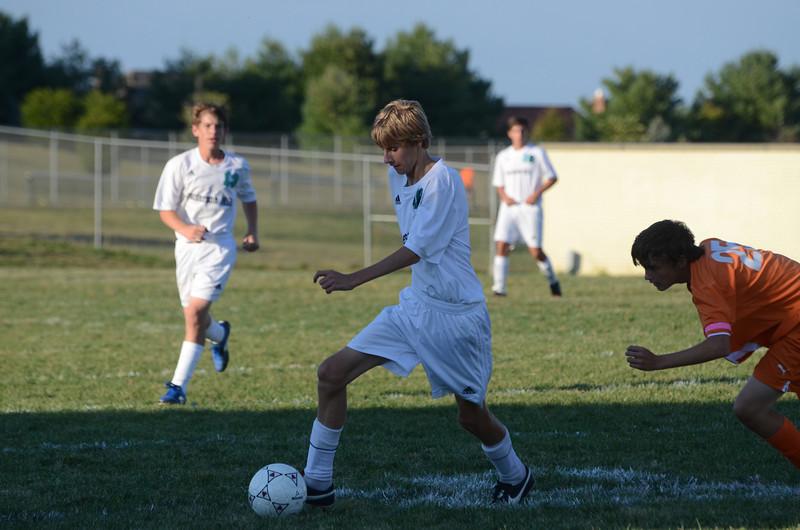 Boys JV Soccer September 26 vs Fallston