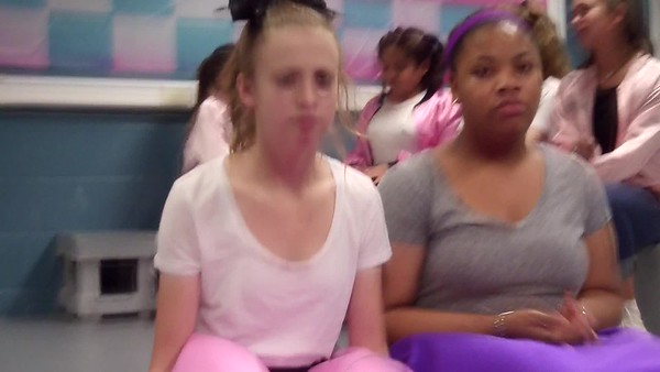 2017-05 Grease- Jackson and Presley, YW class activity at Chill