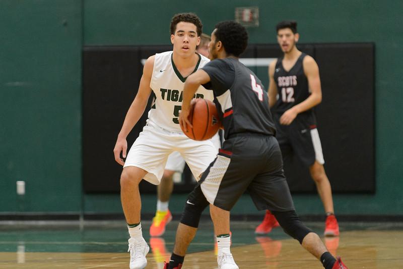 Tigard HS Varsity Basketball vs David Douglas