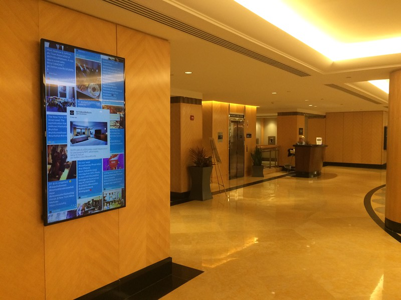 Hilton Lobby NY