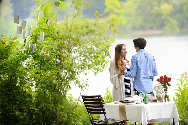 8/29/15 Jonas proposing to Emily