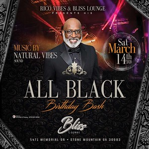 RICOVIBES ALL BLACK BIRTHDAY BASH 2020