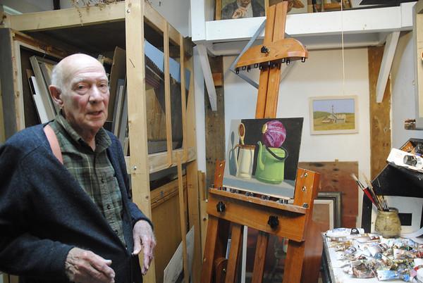 Artist John Poulas Semple