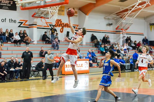 Roseville High School Varsity Boys Basketball vs Del Campo 12-11-18