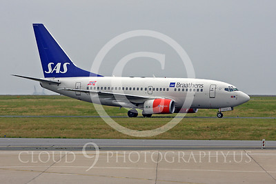 SAS Braathens Airline Boeing 737 Airliner Pictures