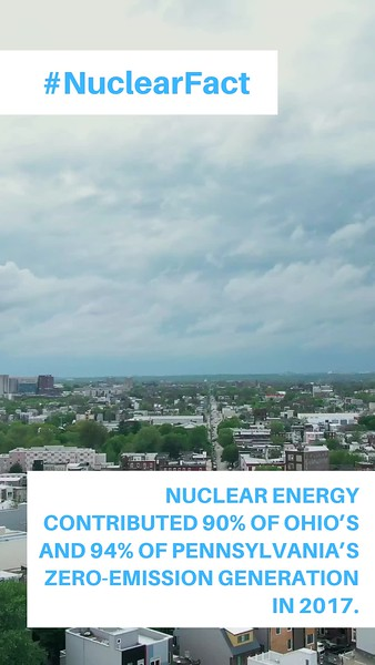 Copy of Nuclear Energy contributed 90% of Ohio's and 94% of Pennsylvania's zero-emission generation in 2017..mp4