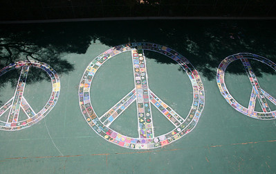 CHALK4PEACE 2008 Crane Country Day School, Montecito, CA