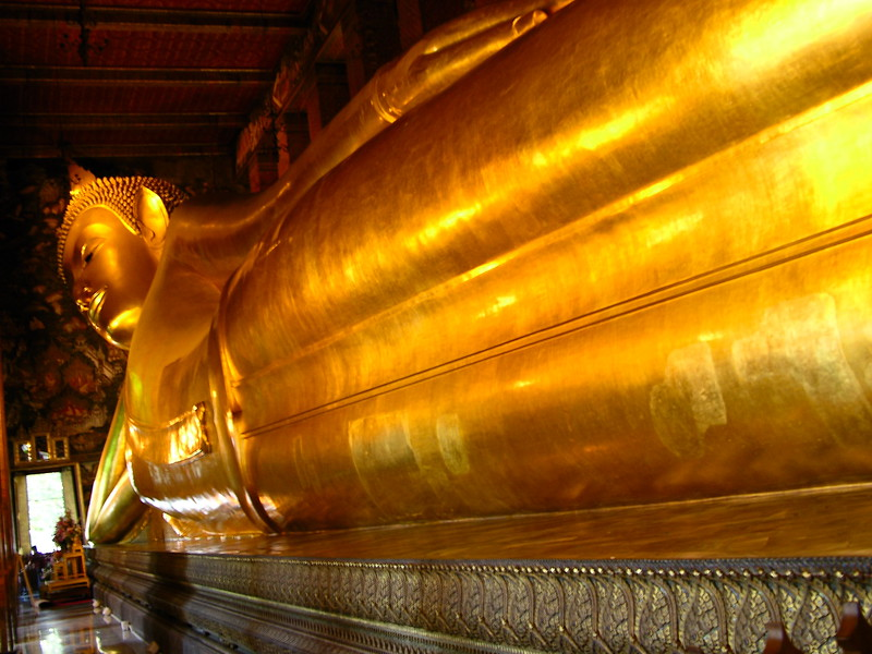 The longest Budda, Palace District-Bangkok