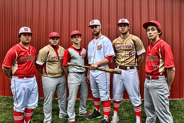 Baseball Senior Photoshoot