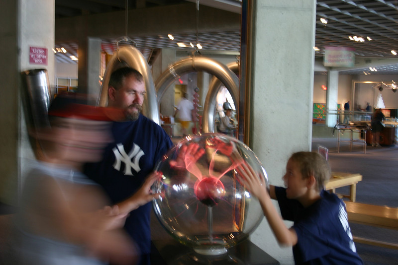Cleveland Science Center - August, 2004
