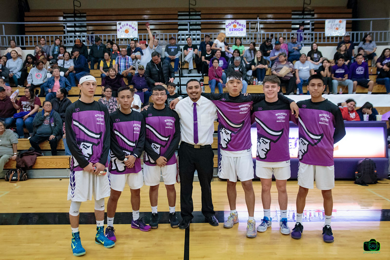 MHS Boys Basketball Senior Night 2-21-2020