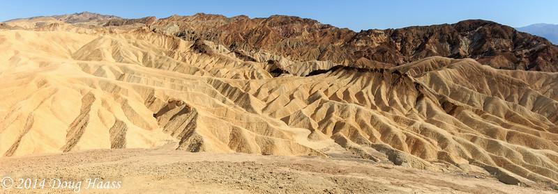 Zabriskie Point, Death Valley NP, California 6/14/2014