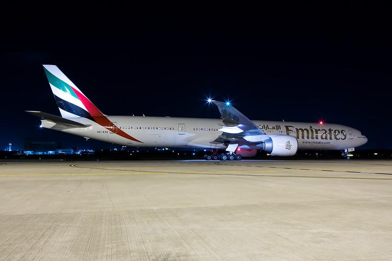 Emirates 777-300ER - A6-EGK - BNE