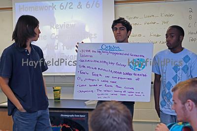 Oceanography Class 6/2/11