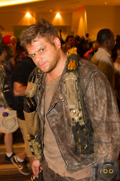 Post Apocalyptic Warrior of Cosplay at DragonCon 2015