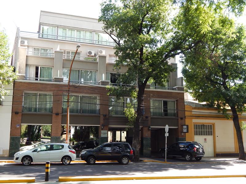 Our hotel in Mendoza